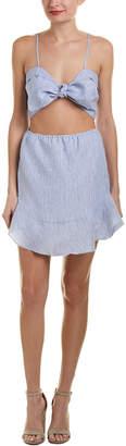 Karina Grimaldi Emily Linen Shift Dress