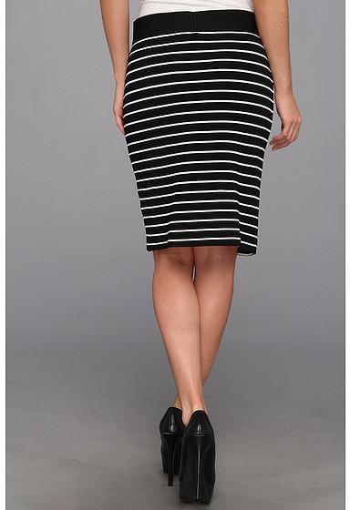 Karen Kane Port Stripe Pencil Skirt