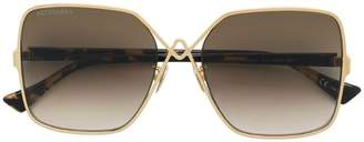 Altuzarra oversized tinted sunglasses