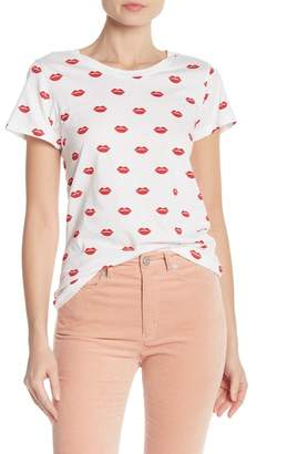 French Connection Lips Printed Tee