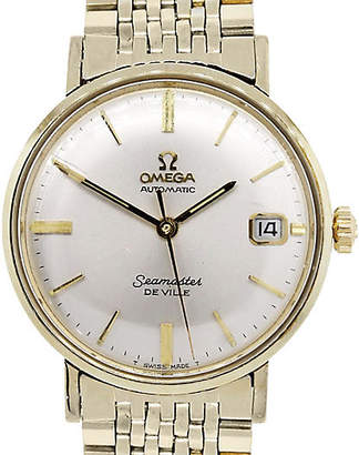 One Kings Lane Vintage Omega Seamaster Deville Gold Watch - Raymond Lee Jewelers