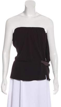 Gucci Buckle-Accented Sleeveless Top