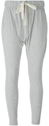 Bassike drop crotch track pants