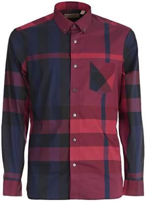 Burberry Checked Pattern Shirt