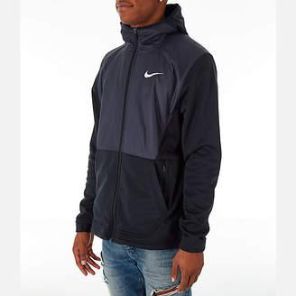 Nike Men's Therma Basketball Full-Zip Hoodie