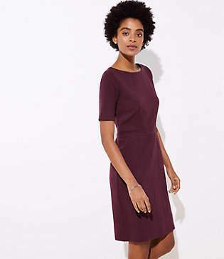 LOFT Petite Pocket Sheath Dress
