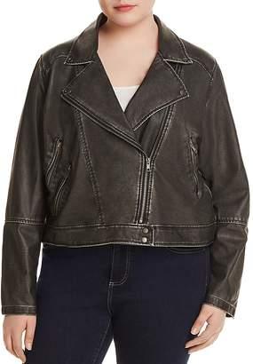 Lysse Plus Jones Faux Leather Moto Jacket
