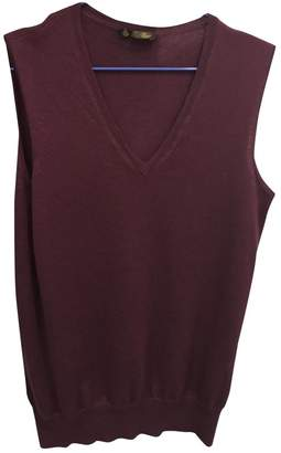 Loro Piana Burgundy Cashmere Knitwear for Women