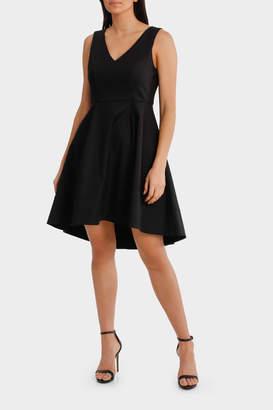 Fit And Flare High Low Dress