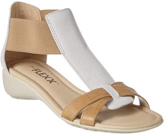 The Flexx Band Together Leather Wedge Sandal