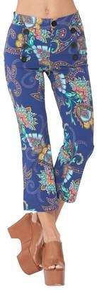 Hale Bob Francesca Stretch Rayon Pants