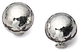 IPPOLITA Glamazon Sterling Silver Half Ball Button Earrings