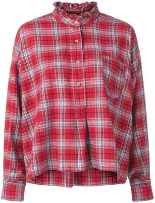 Etoile Isabel Marant classic plaid shirt