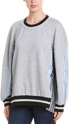 BCBGMAXAZRIA Contrast Sweatshirt