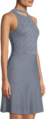 Ali & Jay Palacio De Bellas Stretch-Knit Skater Dress