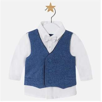 Mayoral Shirt With Vest