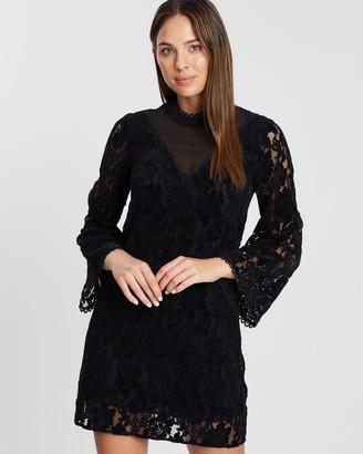 Cooper St Sara Long Sleeve Mini Lace Dress