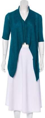 Eileen Fisher Knit Alpaca-Blend Cardigan
