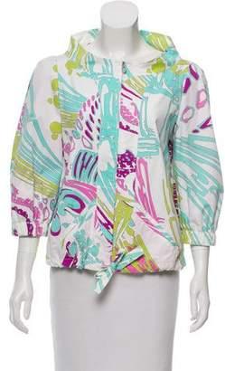 Emilio Pucci Printed Drawstring Jacket