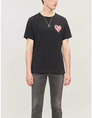 True Religion Heartbreaker graphic-print cotton-jersey T-shirt