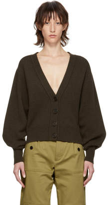 Chloé Brown Cashmere Cardigan