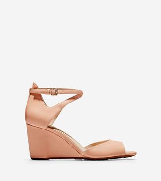0e1c5ad13743 Cole Haan Sadie Open Toe Wedge Sandal (75MM)