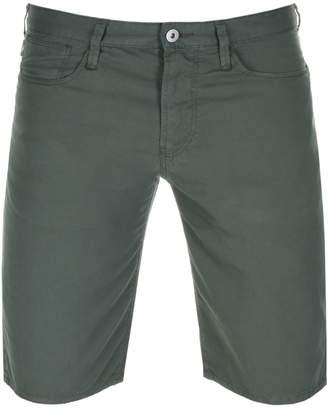 Giorgio Armani Emporio Slim Fit Shorts Green
