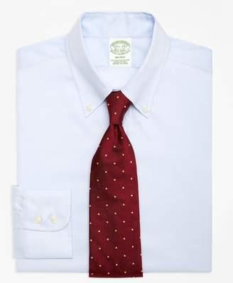 Brooks Brothers Milano Slim-Fit Dress Shirt, Button-Down Collar