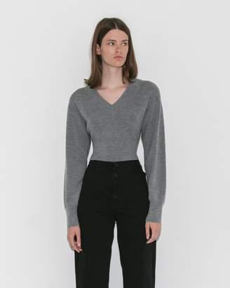 Alexanderwang.T Twist-Back Cropped Sweater