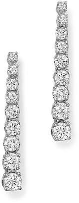 Bloomingdale's Diamond Linear Drop Earrings in 14K White Gold, 1.0 ct. t.w. - 100% Exclusive