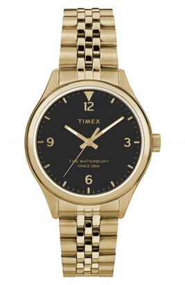 Timex Waterbury Bracelet Watch, 34mm
