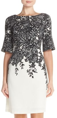 Women's Adrianna Papell A-Line Dress $160 thestylecure.com