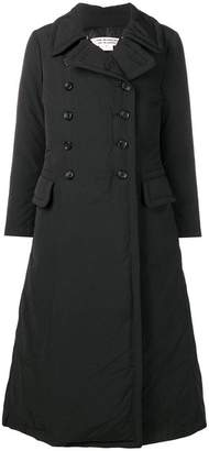 Comme des Garcons padded trench coat