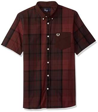 Fred Perry Men's Tonal Tartan Shirt