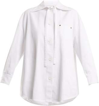 MM6 MAISON MARGIELA Cotton-denim jacket