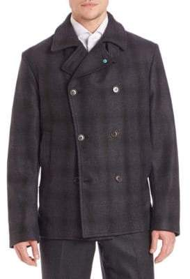 DB Wool & Cashmere Peacoat