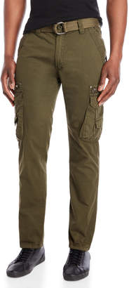 X-Ray X Ray Belted Cargo Tapered Pants