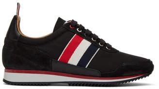Thom Browne Black Jogger Sneakers