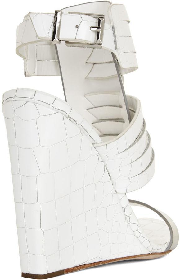 BCBGMAXAZRIA Liv Gladiator Wedge Sandal