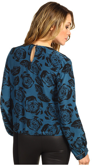 Winter Kate Silk Crepe Long Sleeve Blouse