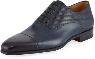 Magnanni Hand-Antiqued Calf Dress Shoe