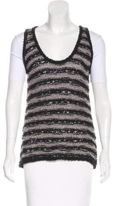 Rag & Bone Knit Striped Sweater Vest