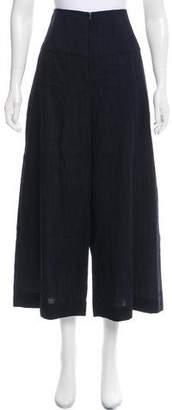 Zero Maria Cornejo Textured High-Rise Culottes w/ Tags
