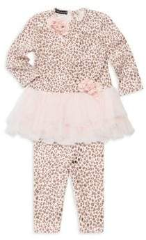 Kate Mack Baby Girl's& Little Girl's Two-Piece Tunic& Legging Set
