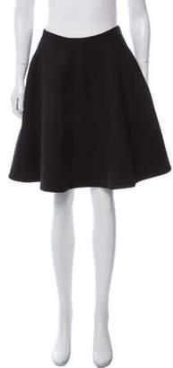 Marc Jacobs A-Line Knee-Length Skirt Black A-Line Knee-Length Skirt