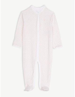 Ralph Lauren Floral print cotton sleepsuit 9-12 months