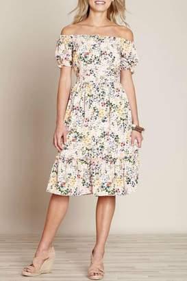 Yumi Floral Midi Dress