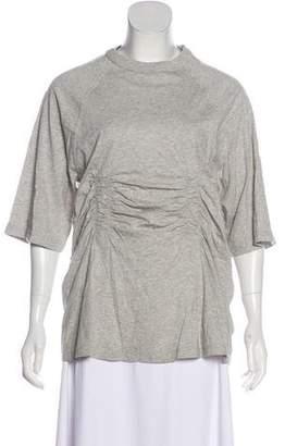 Tibi Tonal Short Sleeve Top