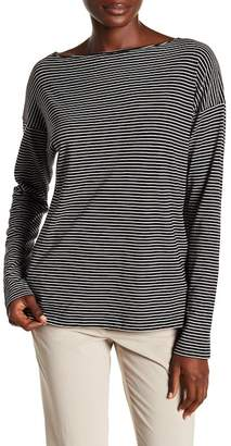 Vince Pencil Stripe Long Sleeve Tee