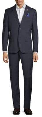 Ben Sherman Plaid Suit